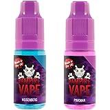 Pack découverte éco – Vampire Vape – 1 flacon 10ml de Heisenberg + 1 flacon 10 ml de Pinkman – 0% - Sans tabac ni nicotine