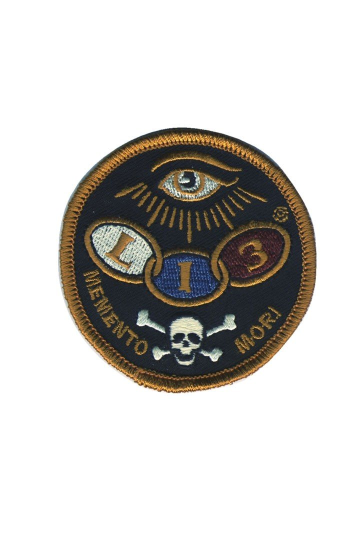 Lucky 13 Dead Eye Biker Embroidered Patch
