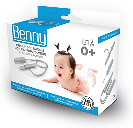 Benny - Aspirador nasal para aspiradora: Amazon.es: Bebé