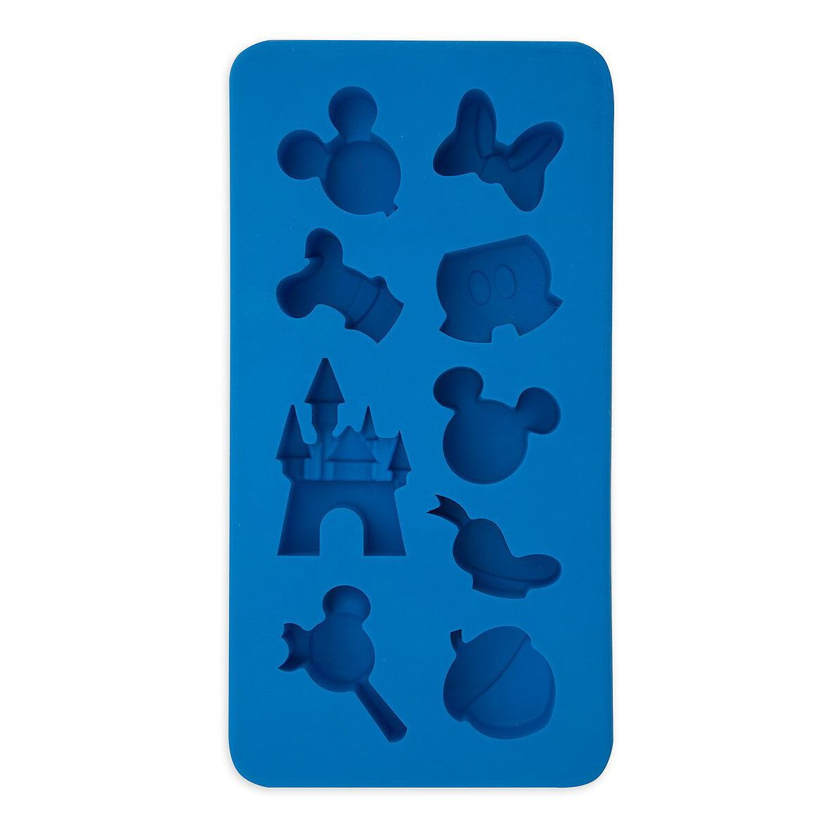 Disney Parks Mickey Mouse Character Castle Silicone Ice Cube Tray Mold