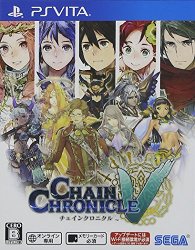 Top Chain Chronicle V Psvita (Japanese Boxed Version) (Japan Import)