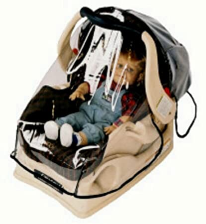 Sashas Wrap Around Rain And Wind Cover For Infant Carrier Car Seat