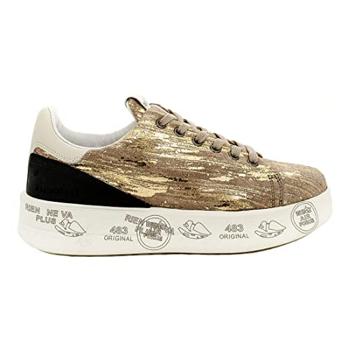 PREMIATA Belle 3713 Sneaker Oro: Amazon.it: Scarpe e borse