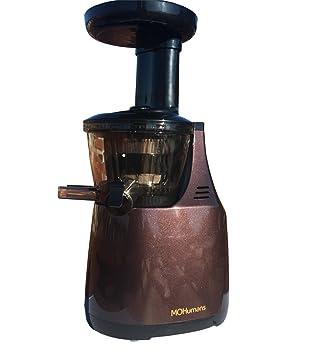 Extractor de zumos MOHumans DY-200 color Berenjena. 43 rpm. Slow juicer, Extracteur de jus. 3 Filtros incluidos: Amazon.es