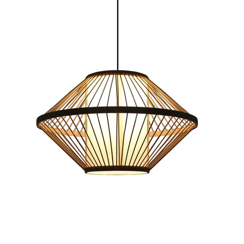 天井照明シャンデリア 新しいペンダントライト現代のシンプルな竹シャンデリアクリエイティブ天井照明家の装飾吊りランプ器具 屋内照明   B07TNP19W1