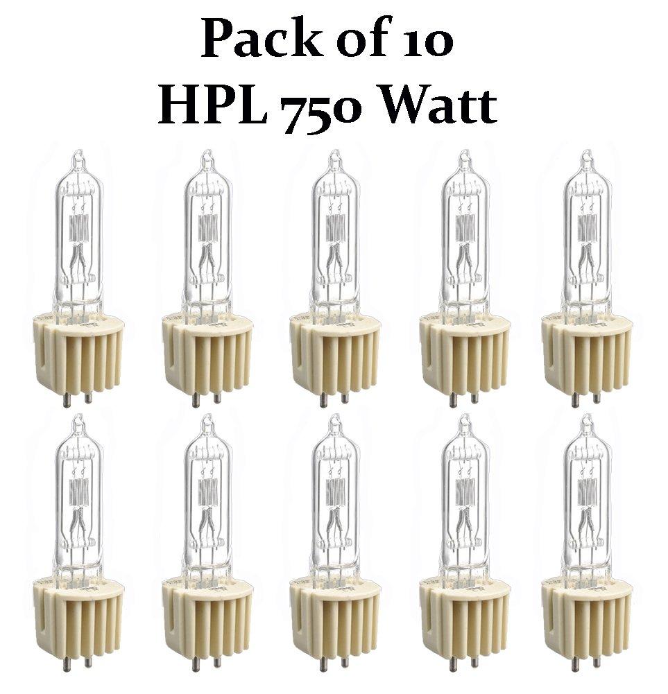 Ushio 1003178 750 Watt Light Bulb Heat Sink Base HPL-750//120X+ Pack of 10