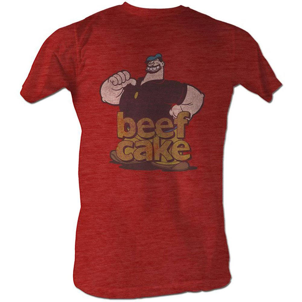 Popeye Beefcake Adult T Shirt Tee