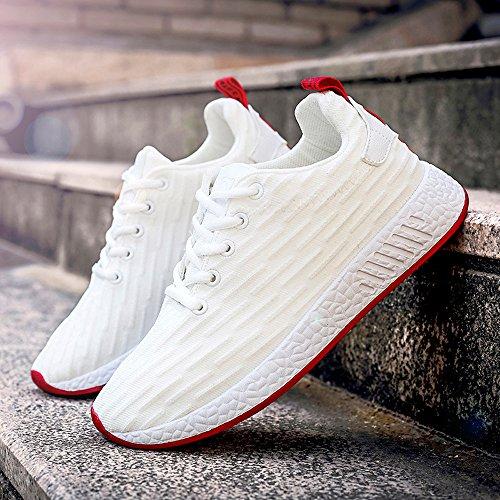 Zapatillas Deportivas señora Gimnasio Transpirables Zapatillas Blanco Deporte Zapatos Sneakers Deporte Casual para Correr de Mujer de Running para waxzSwrU