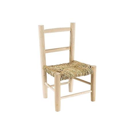 Piccola sedia in legno per bambini beige: Amazon.it: Casa e cucina