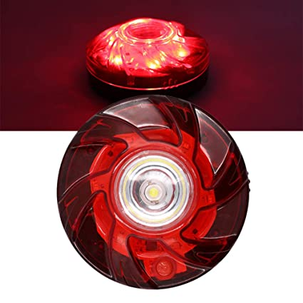 New LED Road Flare Emergency Safety Lights Roadside Flashing Road Beacon For Car