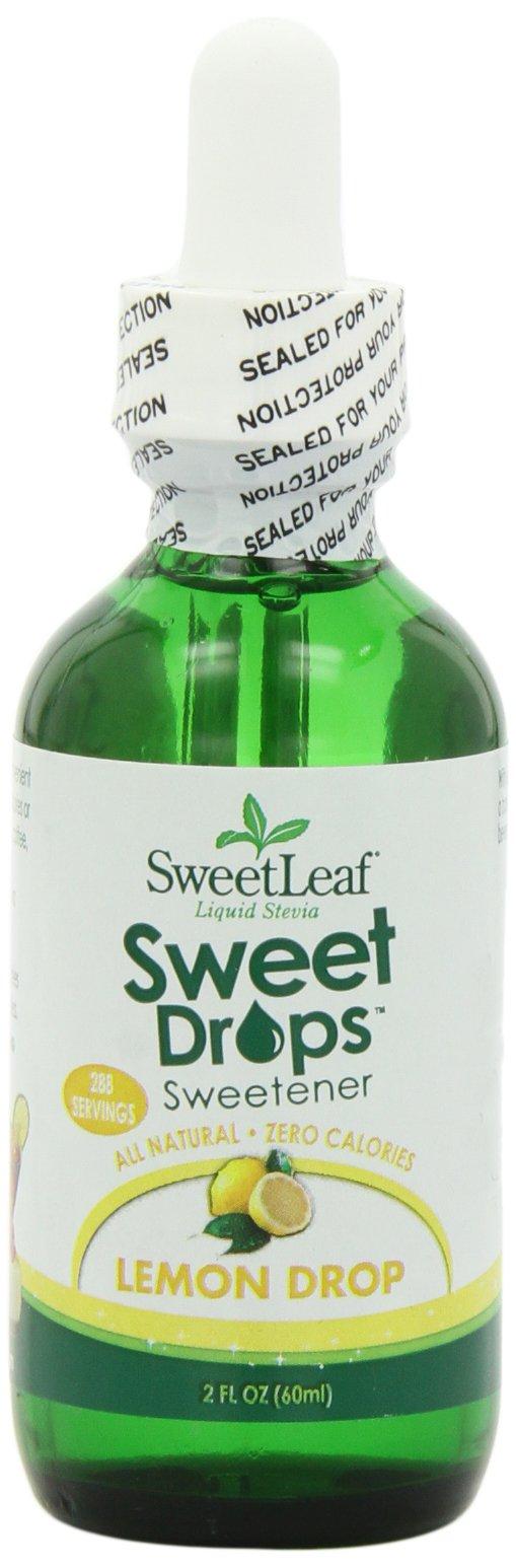 SweetLeaf Sweet Drops Liquid Stevia Sweetener, Lemon Drop, 2 Ounce (Pack of 2)