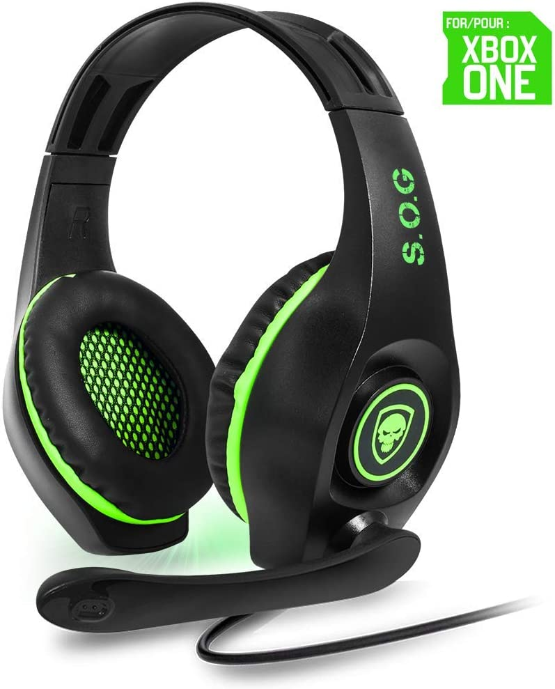 SPIRIT OF GAMER - Microauriculares Pro-SH5 para Xbox One/Stereo ...