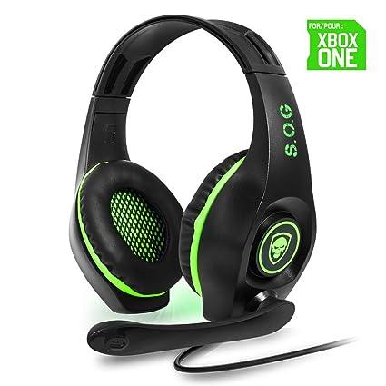 Spirit Of Gamer Pro Sh5 Headphones Gaming Xbox One Amazon
