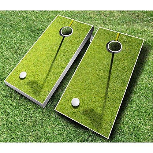 Golf Cornhole Set with Bags from AJJ Cornhole