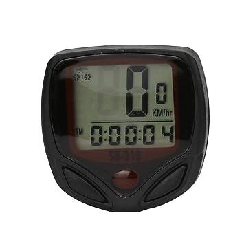 Beito LCD-Fahrradcomputer Tacho Kilometerz/ähler