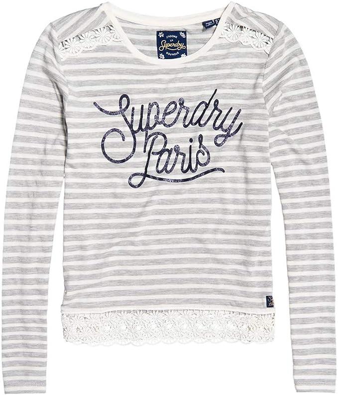 Superdry Damen Sienna Graphic Top T Shirt