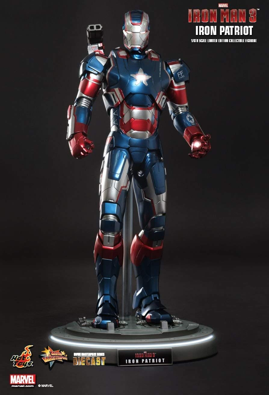 Hot Toys MMS195D01 - Marvel Comics - Iron Man 3 - Iron Patriot