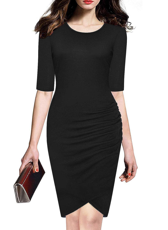 Black1 LEIYEE Women's Floral Print Sundress Strap Casual Button Sunflower Midi Dress Pockets