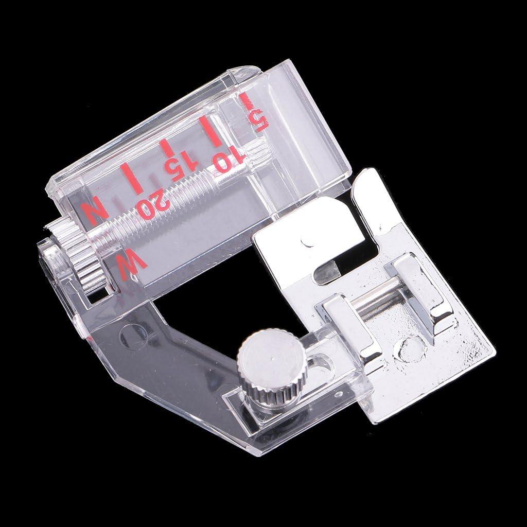 IPOTCH Prensatelas Dobladillo Invisible para Máquina de Coser para ...