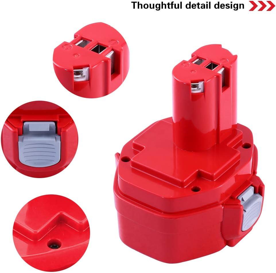 Batteries Pour MAKITA 14.4V 3,0Ah 3000mAh PA14 1420 1422 1433 1434 Jr140d 1435