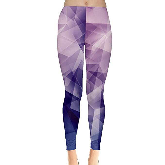 cd834d729 CowCow Blue Iridescent Blue Purple and Pink Pattern Women s Leggings