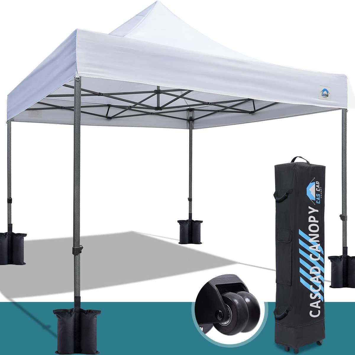 CASCAD CANOPY 10 x10 Ez Pop Up Canopy Tent