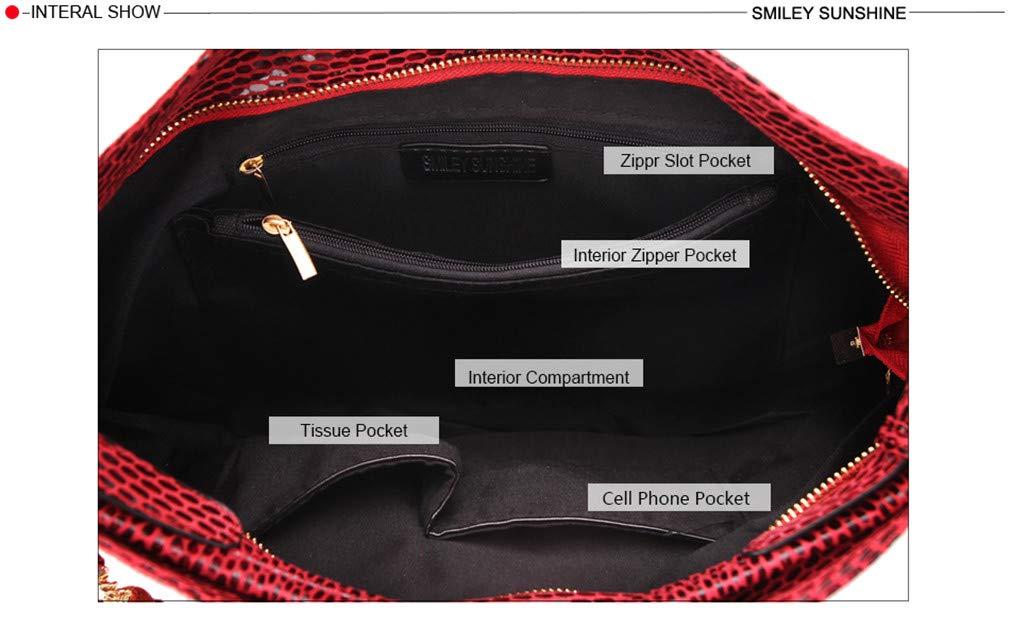 Yueling Quaste Frauen Taschen Hobo Female rot Leder Handtaschen Handtaschen Handtaschen Geldbörsen Damen Umhängetaschen Große Umhängetaschen Für Frauen B07GPCR9X4 Damenhandtaschen Stilvolle und attraktive Tasche 588a9f