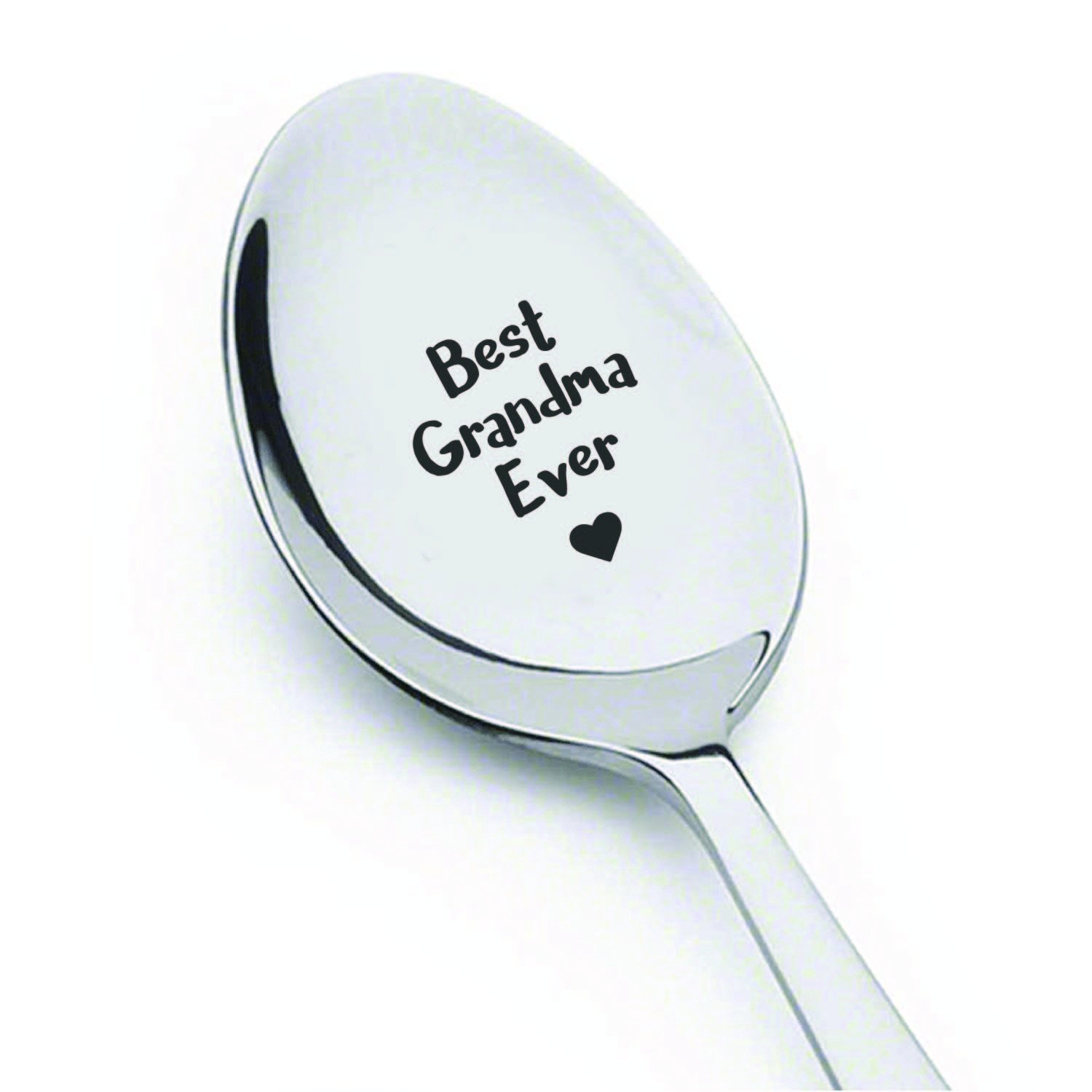Funny gifts - Best Grandma Ever Spoon - Grandma gift - Gifts for grandma - Best selling items - Grandma to be - Mom gifts - Grandmother of the bride - 7 Inches Boston Creative Company