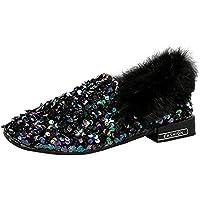YGbuy Zapatos De Mujer De Moda, Lentejuelas Salvajes