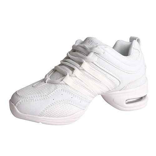 Free Fisher Zapatos de Danza Baile de Tango Jazz Hip Hop Zapatos Deportivos para  Mujer  Amazon.es  Zapatos y complementos ed5100fa2c9
