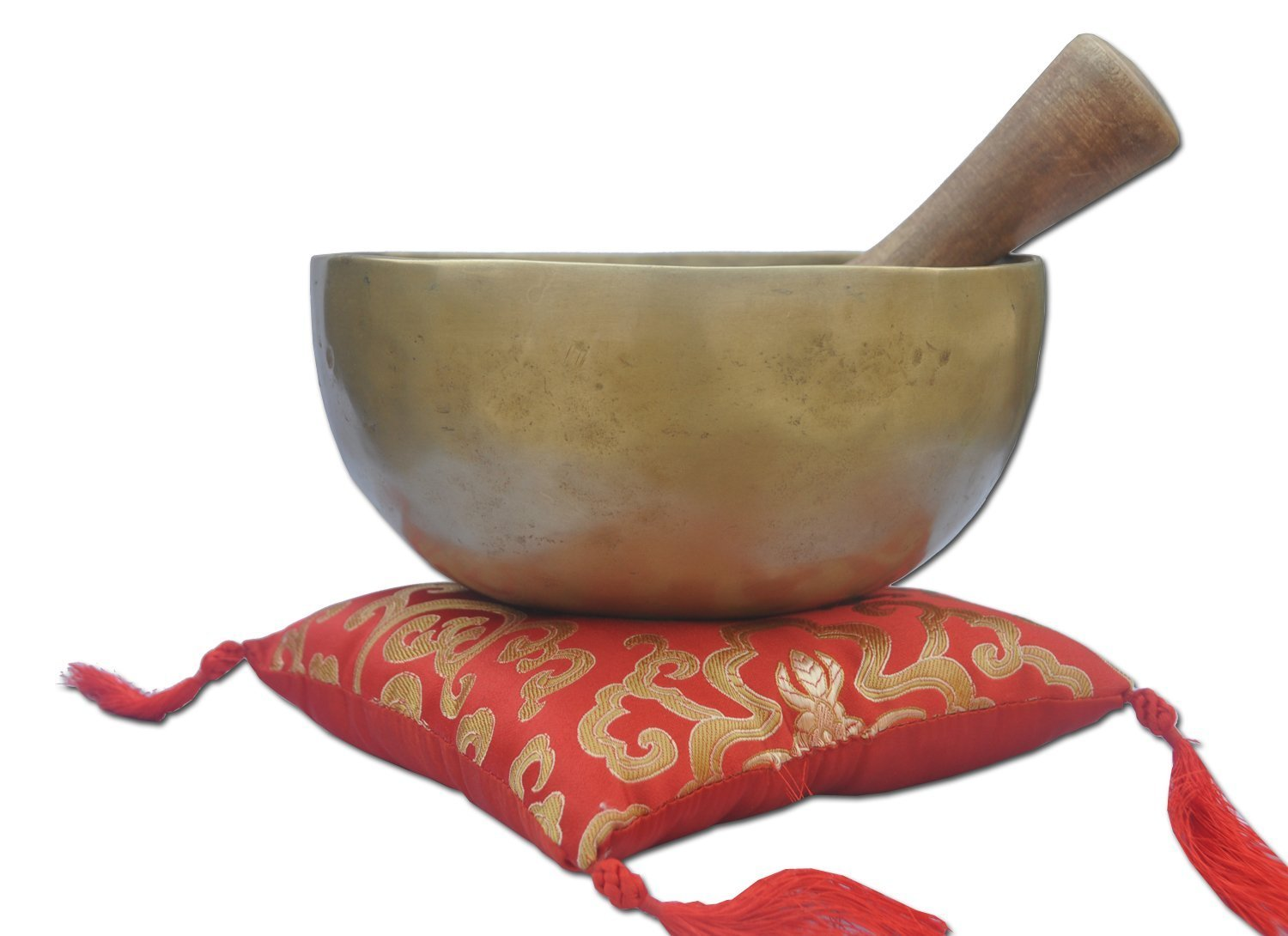7 Chakra B-Crown old campana tibetana, con eccellente old Singing bowl-Ciotola canterina in metallo battuto a mano in Nepal, Buddhist ciotole