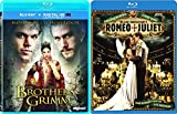The Brothers Grimm & William Shakespeare's Romeo + Juliet (Blu-ray) Modern Fairy Tale set