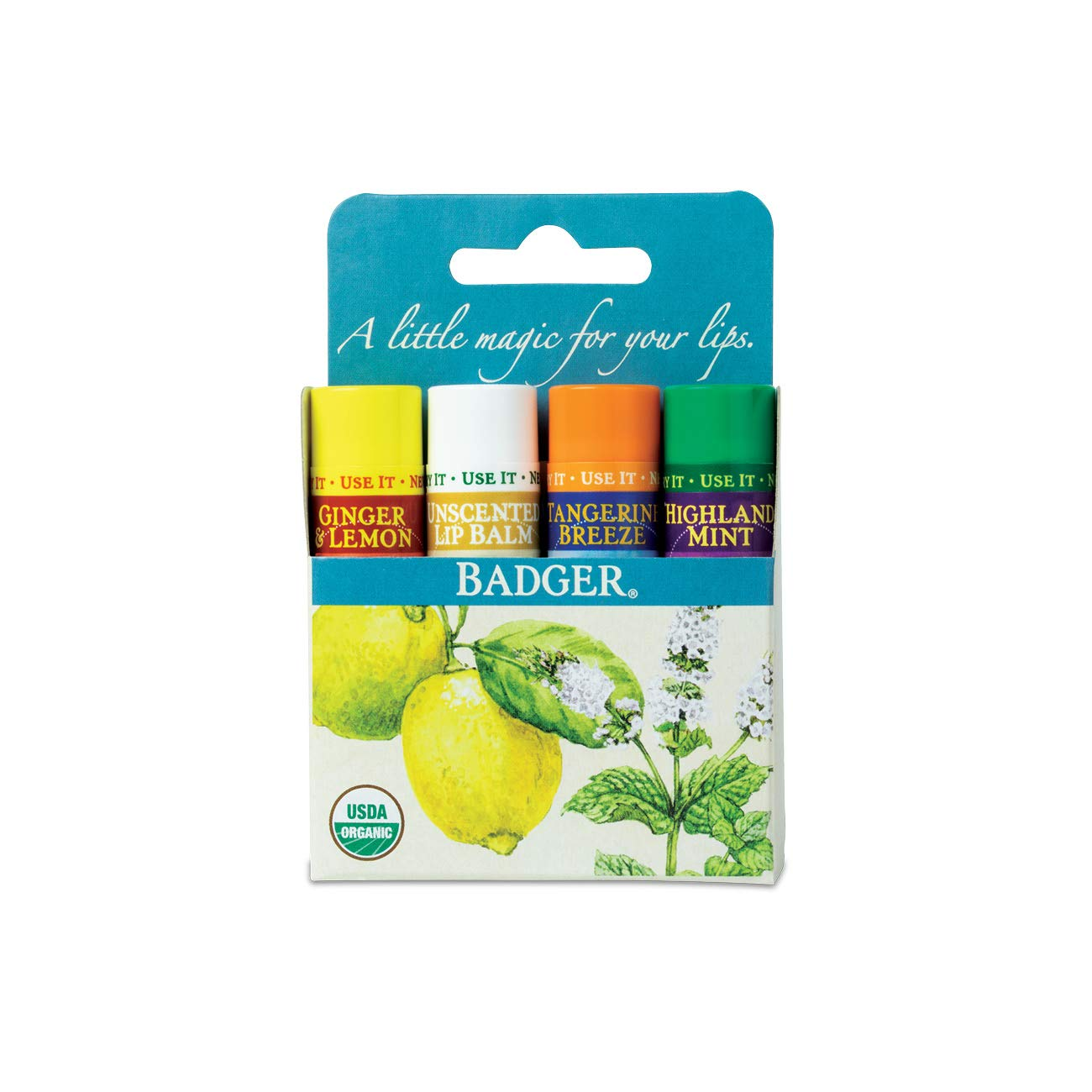 Variety Pack Lip Balm from Badger