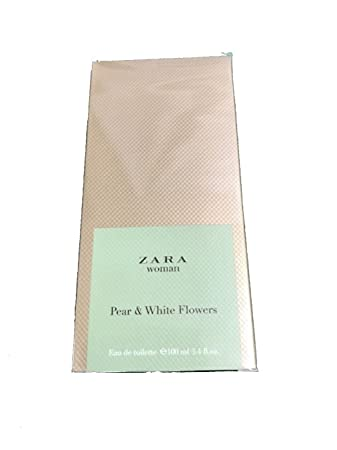 ZARA Woman Eau de Toilette PEAR & WHITE FLOWERS 100ml/3.4 oz
