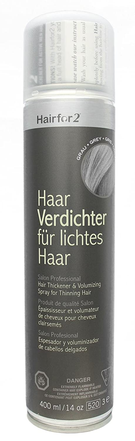 hairfor2 capelli verdichtungs Spray schwarzbraun, 1er Pack (1 X 400 G) 1400110