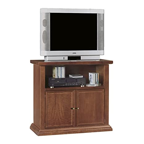 Mobile TV Porta TV Tinta Noce 84 X 40 X 80 per Interno Sala da ...