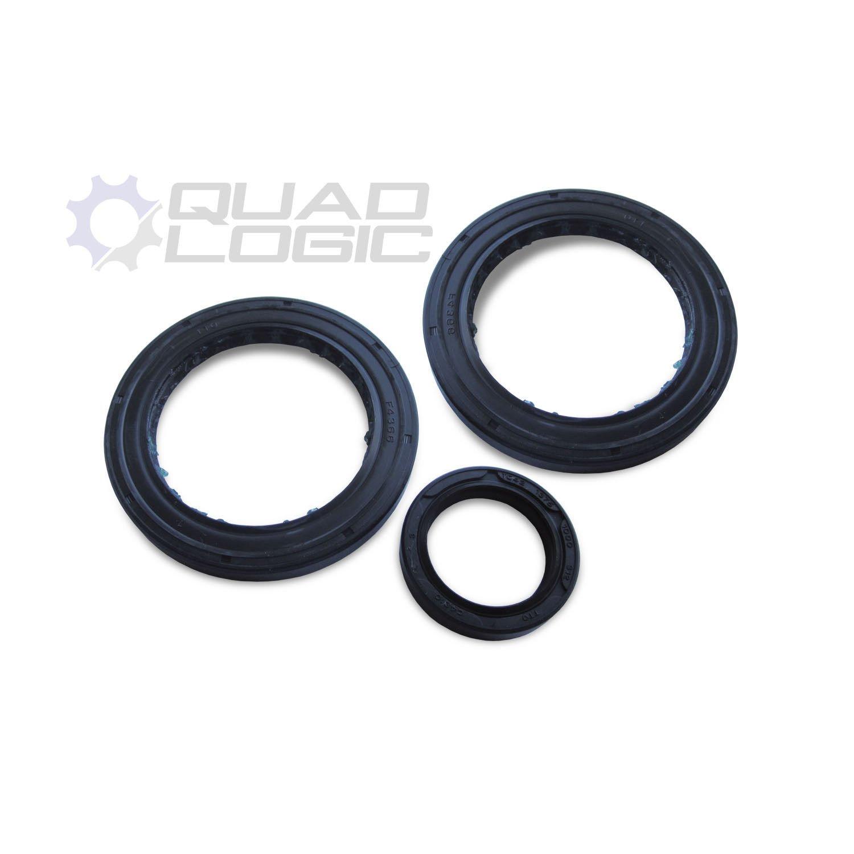 Rear Diff Gearcase Oil Seal Kit 3233256 3233319 Polaris Sportsman Magnum 96-02