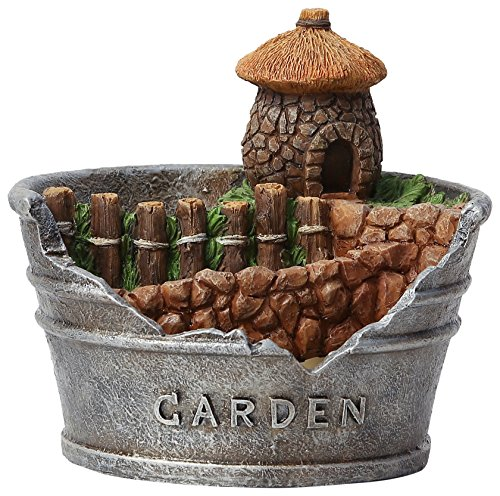 Winsome House Acorn House Planter Miniature Fairy Garden