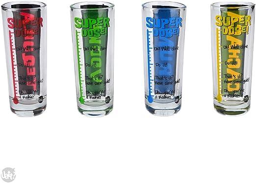 Set of 4 Shot Glasses Nurses Need Shots Too Shot Glass Nurse Gift x4