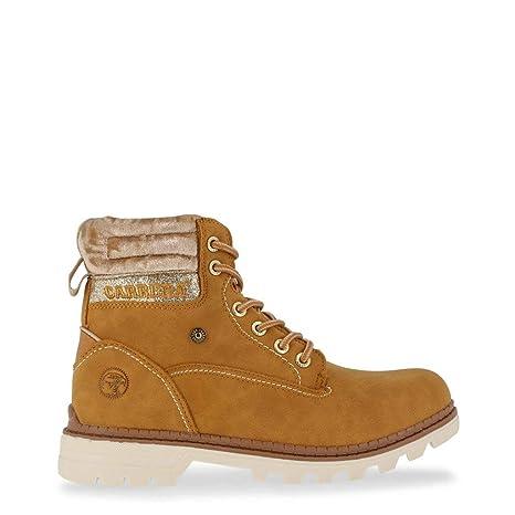 Carrera Jeans Mujer TENNESSE_CAW721001 Marrón Botines Altos 36 EU