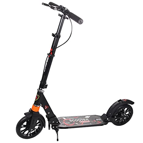 Niño adulto Scooter plegable patinete roller ajustable ...