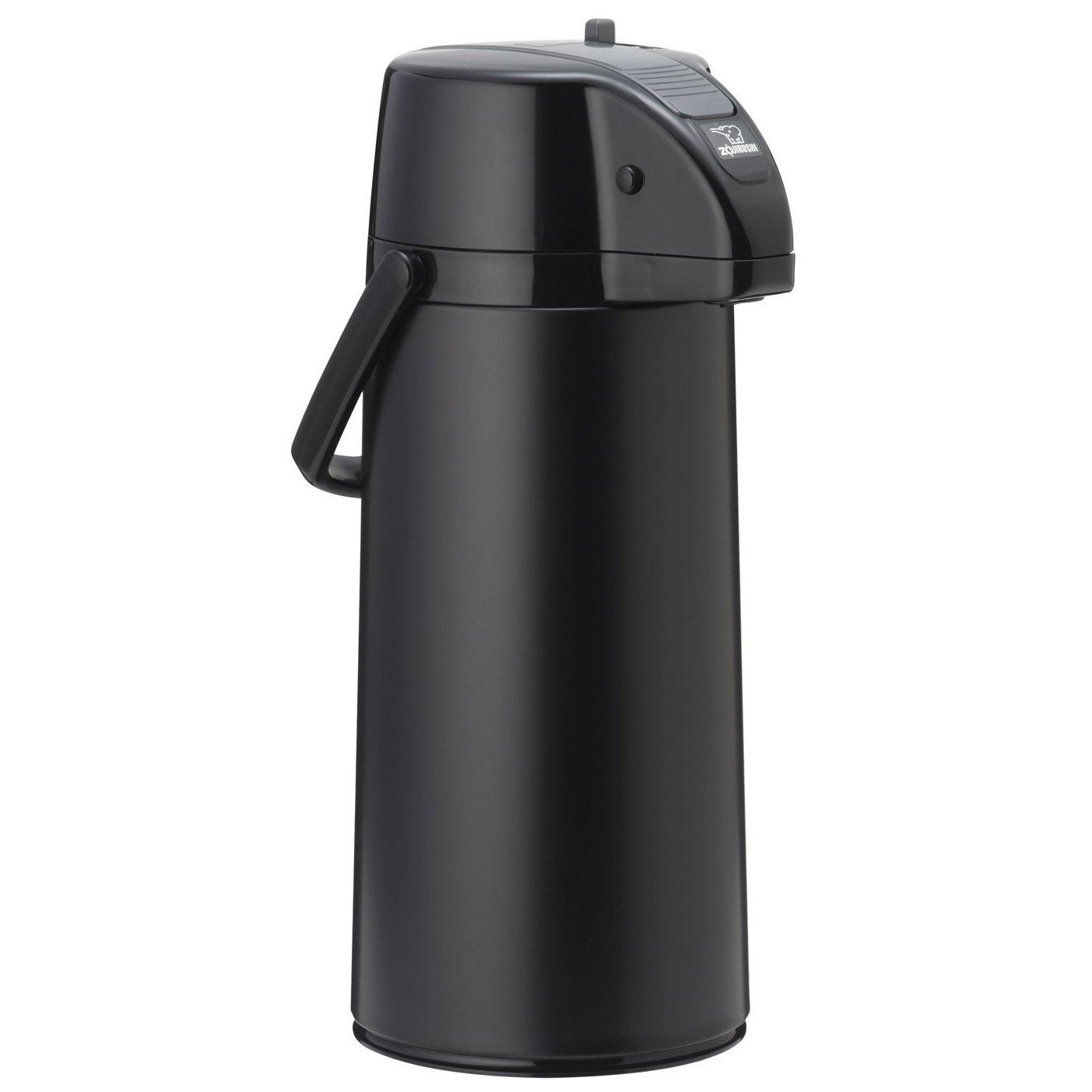 Zojirushi AASB-22BBE Premier Air Pot Beverage Dispenser Matte Black