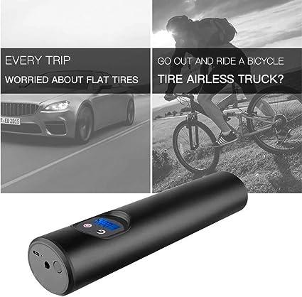 Smart 150PSI Bike Car LCD Rechargeable Tire Pressure Electric Air Inflator Pump