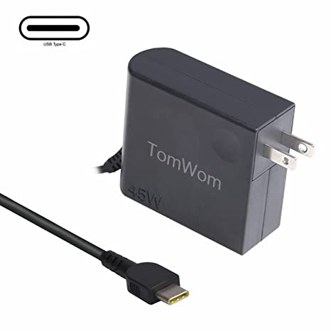 Amazon.com: Yoga Charger,TomWom Laptop Tablet Charger AC ...