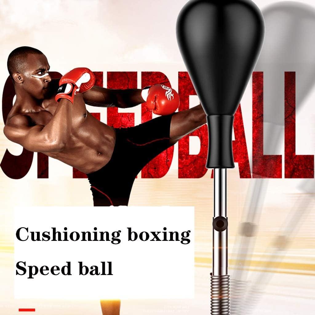 Sport /& Freizeit Ausdauertraining Boxen Ball Professional Training Vertical Speed Boxen Ball Adjustable Erwachsene Kinder Boxen Boxsack Feste Boxen Kugel Color : Black, Size : 1.2-1.6m