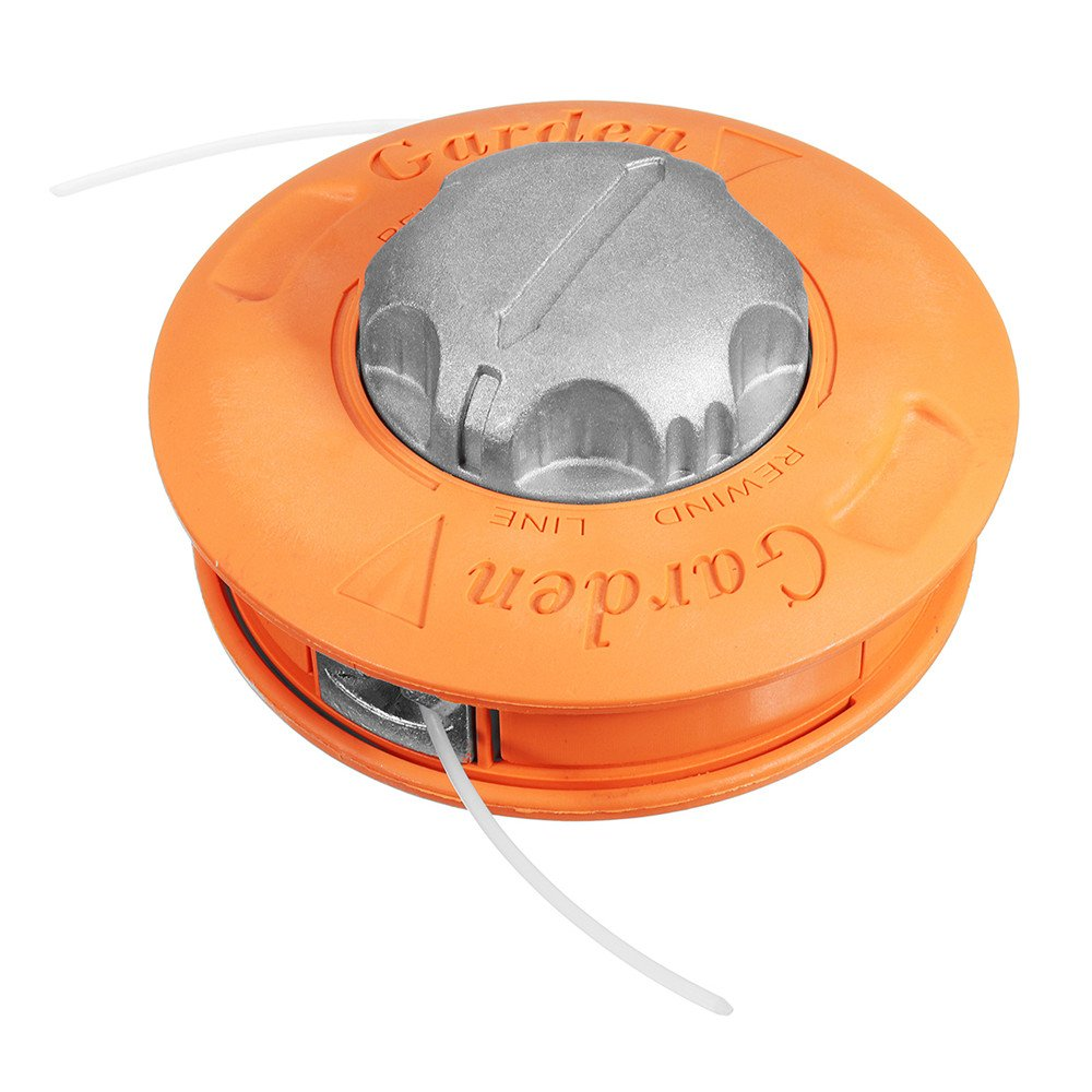 Pukido Universal Aluminum Bump Feed Line Trimmer Head Whipper Weed Fits Brush Cutter Lawnmower