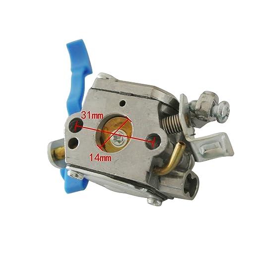 jrl c1q-w37 para carburador para soplador de hojas 125B ...