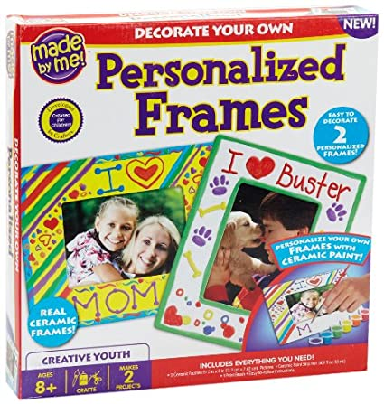 Amazoncom Made By Me Personalized Frames Toys Games