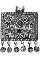 Sterling Spiral Pendant - Sterling Silver