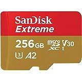 【5年保証】microSDXC 256GB SanDisk サンディスク Extreme UHS-1 U3 V30 4K Ultra HD アプリ最適化 A2対応 SDアダプター付 [並行輸入品]